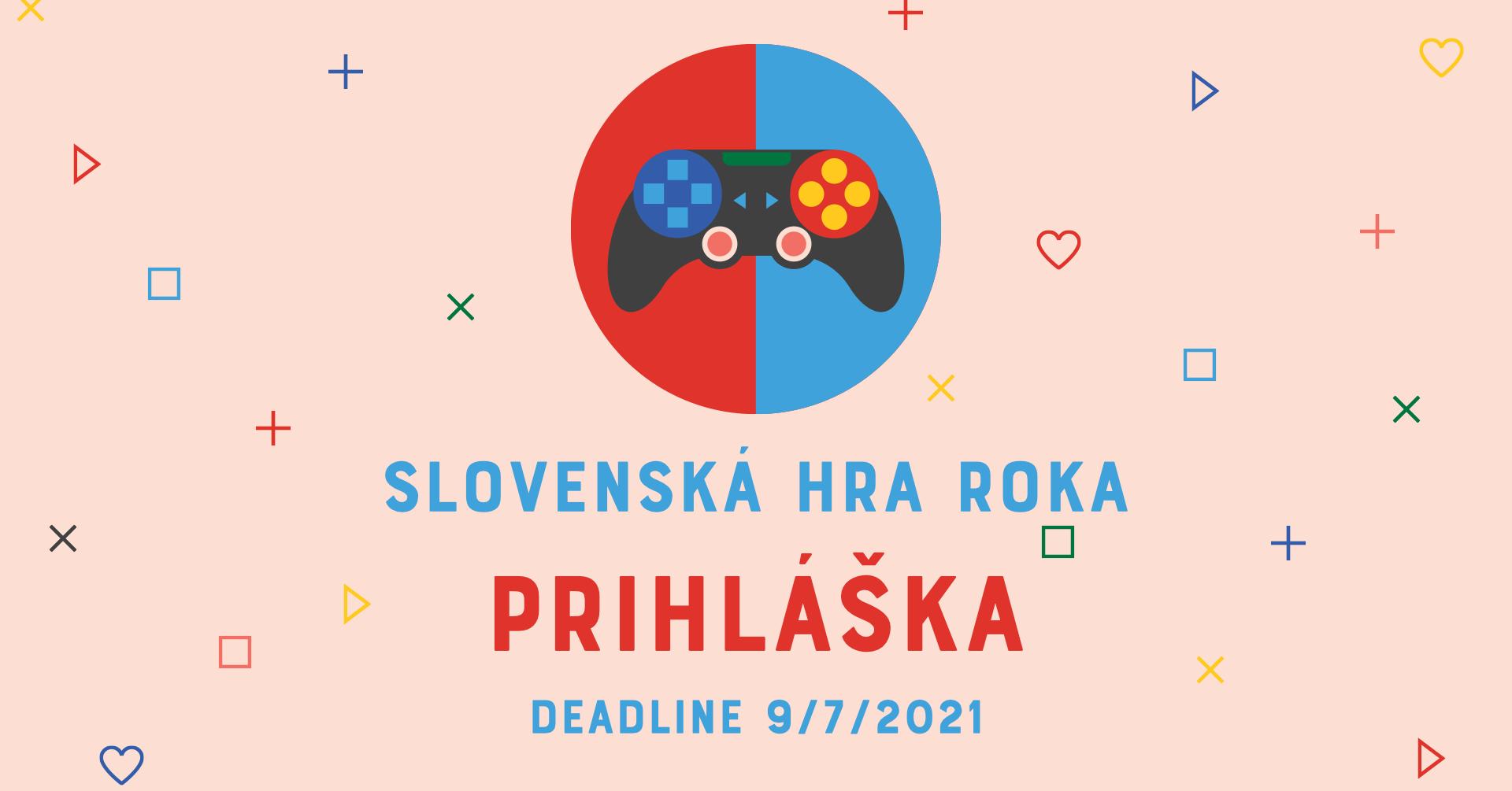 Slovenská hra roka 2020 - prihláška